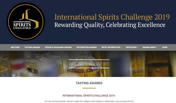 El Supremo Rum wins a Silver medal for its 8 years old Rum at the most important and prestigious tasting event in London.  The International Spirits Challenge 2019